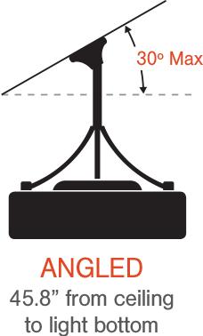 Diagram: Angled Installation